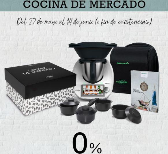 Súper promoción!!!! Cocina de mercado y 0% de interés.
