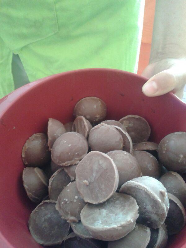 Helado cremoso de chocolate con Thermomix®