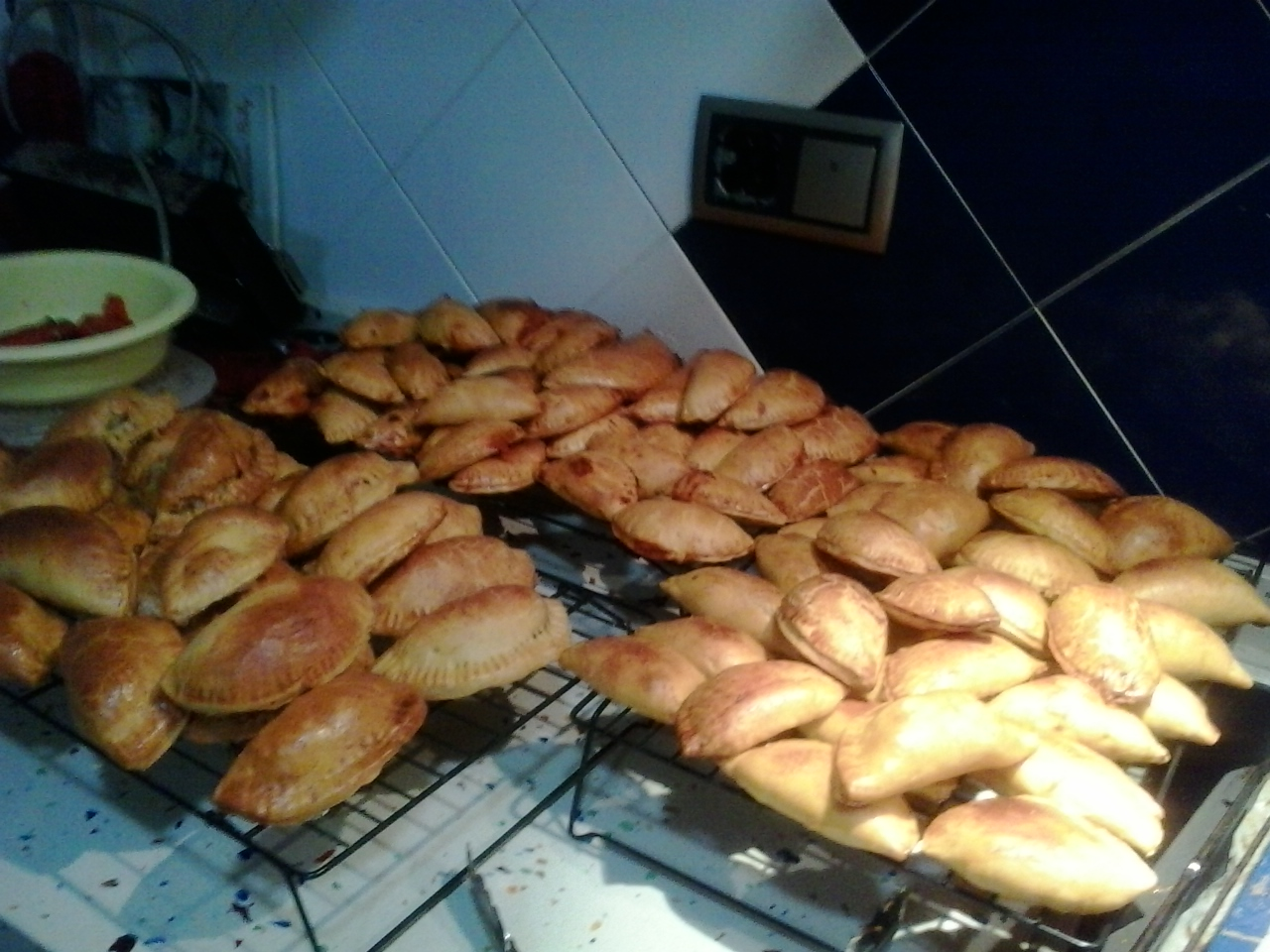 Empanadas de patatas típica de Yecla hecha con Thermomix®
