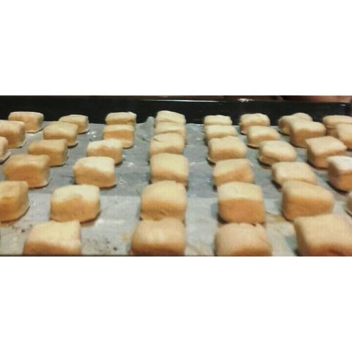 Mantecados de manteca, mantecaos de bocao* empolvados con Thermomix® - preparando la Navidad