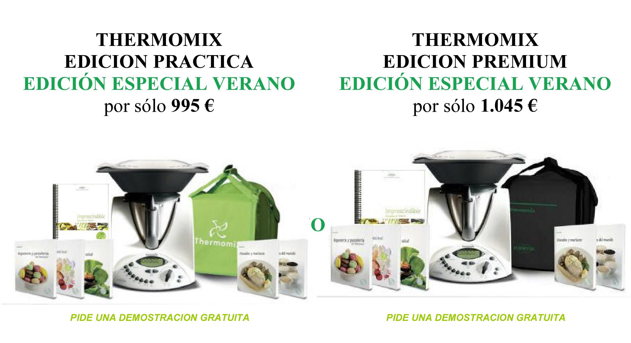 Thermomix® EN MURCIA: EDICION VERANO, solo hasta el 14 de julio.