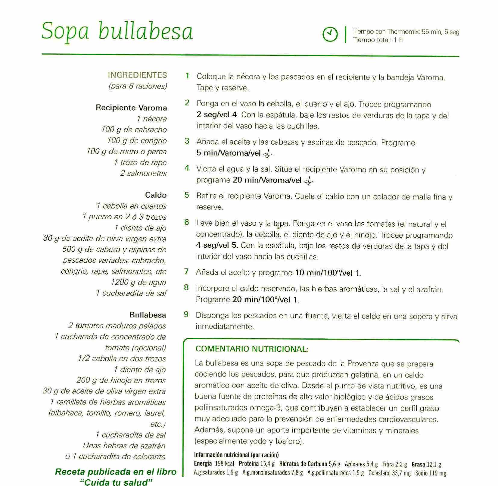 BULLABESA EN Thermomix®