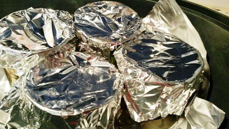Bizcocho de chocolate con flan al vapor con Thermomix® . SIN HORNO