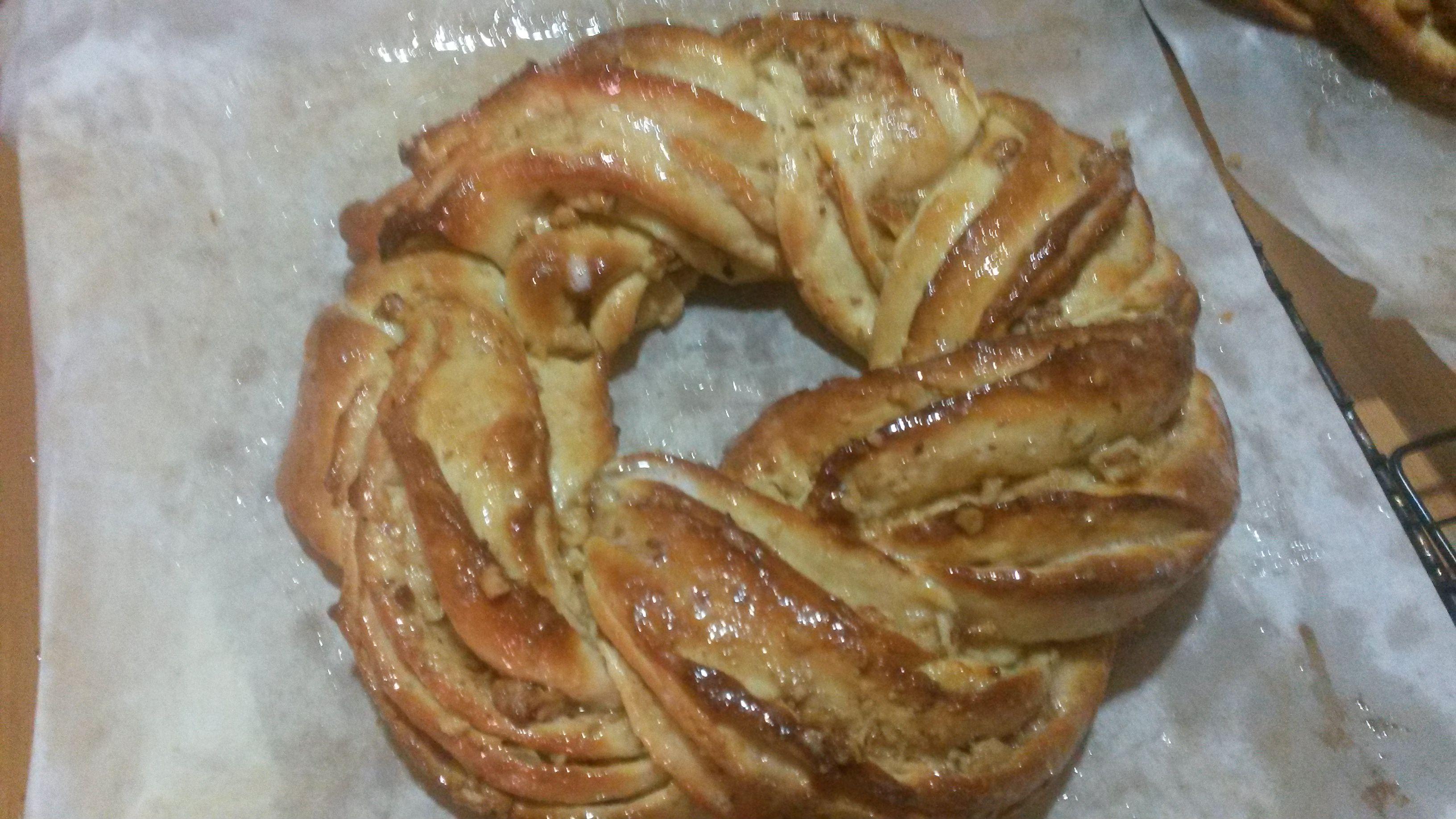 Kringle Estonia, Rosca dulce de canela y nueces delicioso con Thermomix®