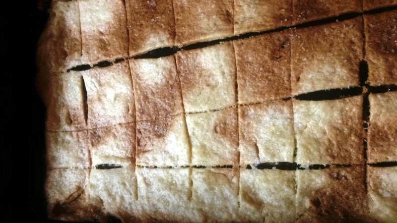 Torta de sal o azúcar para desayuno o merienda con Thermomix® de la abuela Antonia