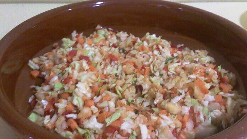 Ensalada de vegetales fresquita con Thermomix®