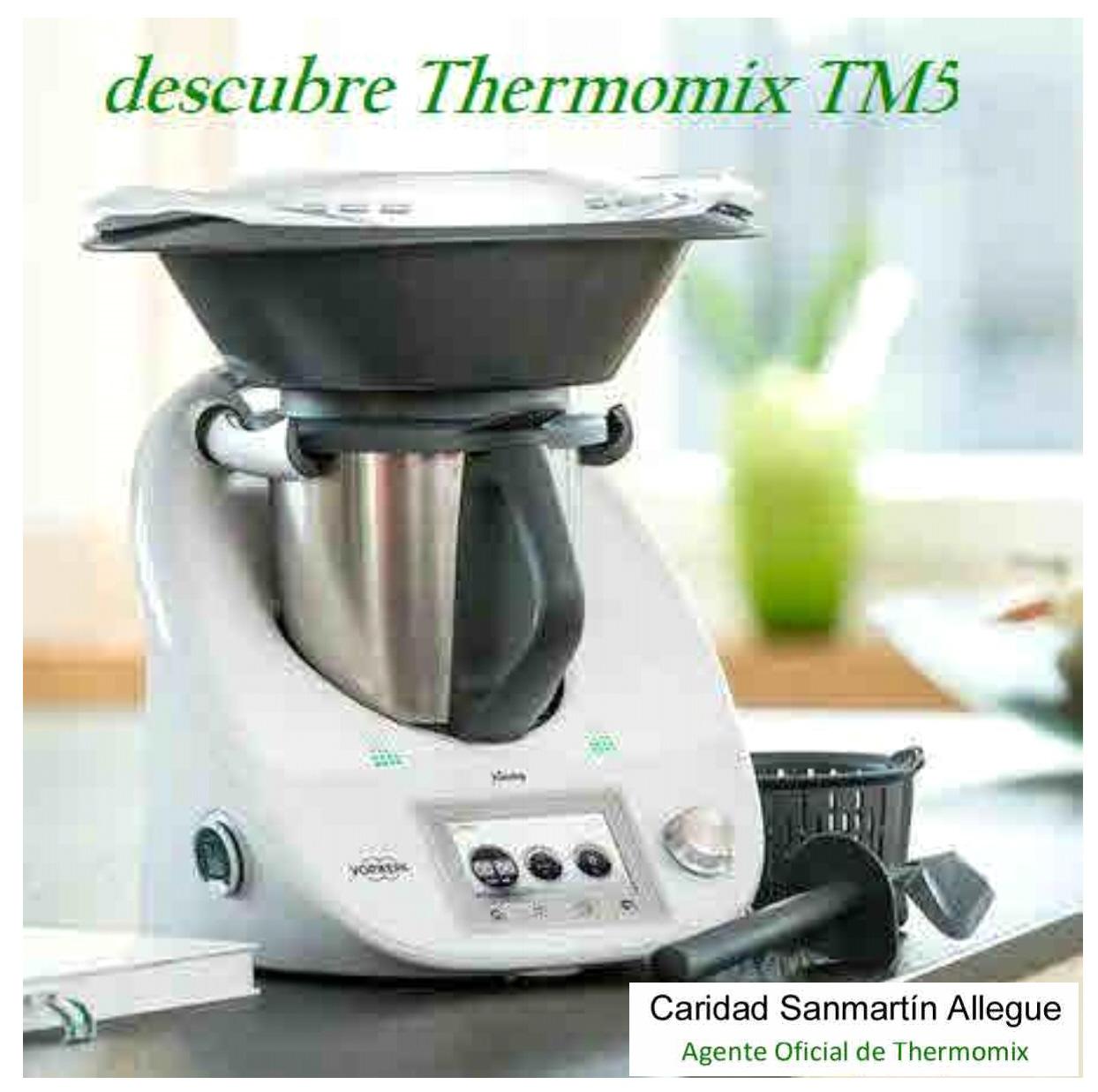 NUEVO Thermomix® TM5, DESCÚBRELO ESTE VERANO