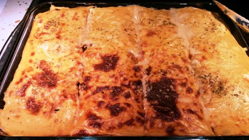 Musaka especial niños, de pollo, berenjena, zanahorias y pimiento con Thermomix®