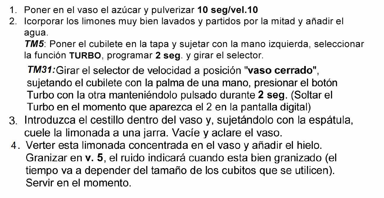 GRANIZADO DE LIMÓN RÁPIDO CON Thermomix®