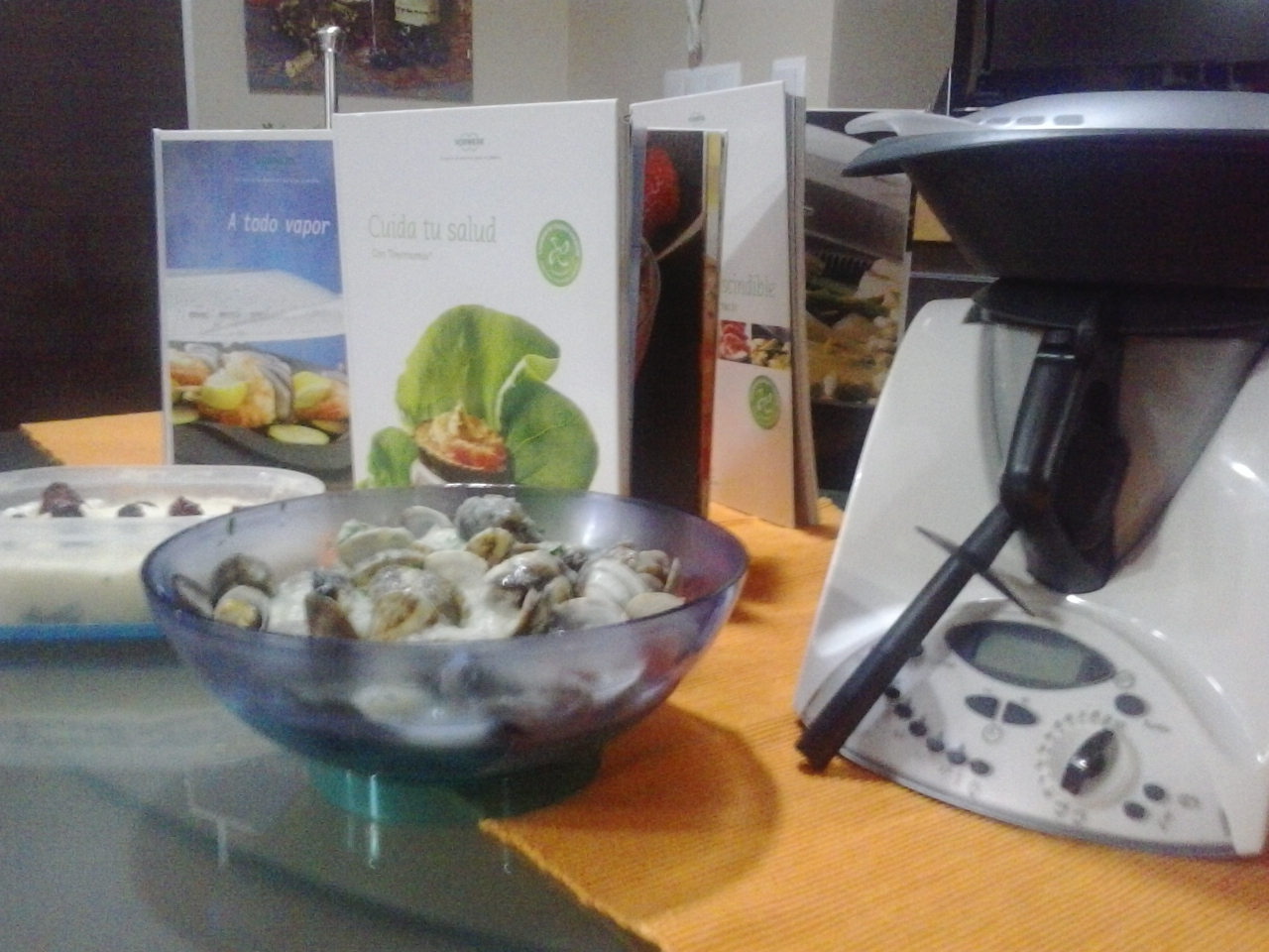 Patatas con almejas.. light con Thermomix®