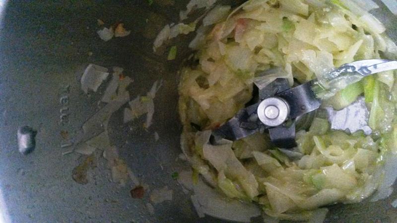 Salsa Carbonara con leche evaporada para pasta con Thermomix® --lijera