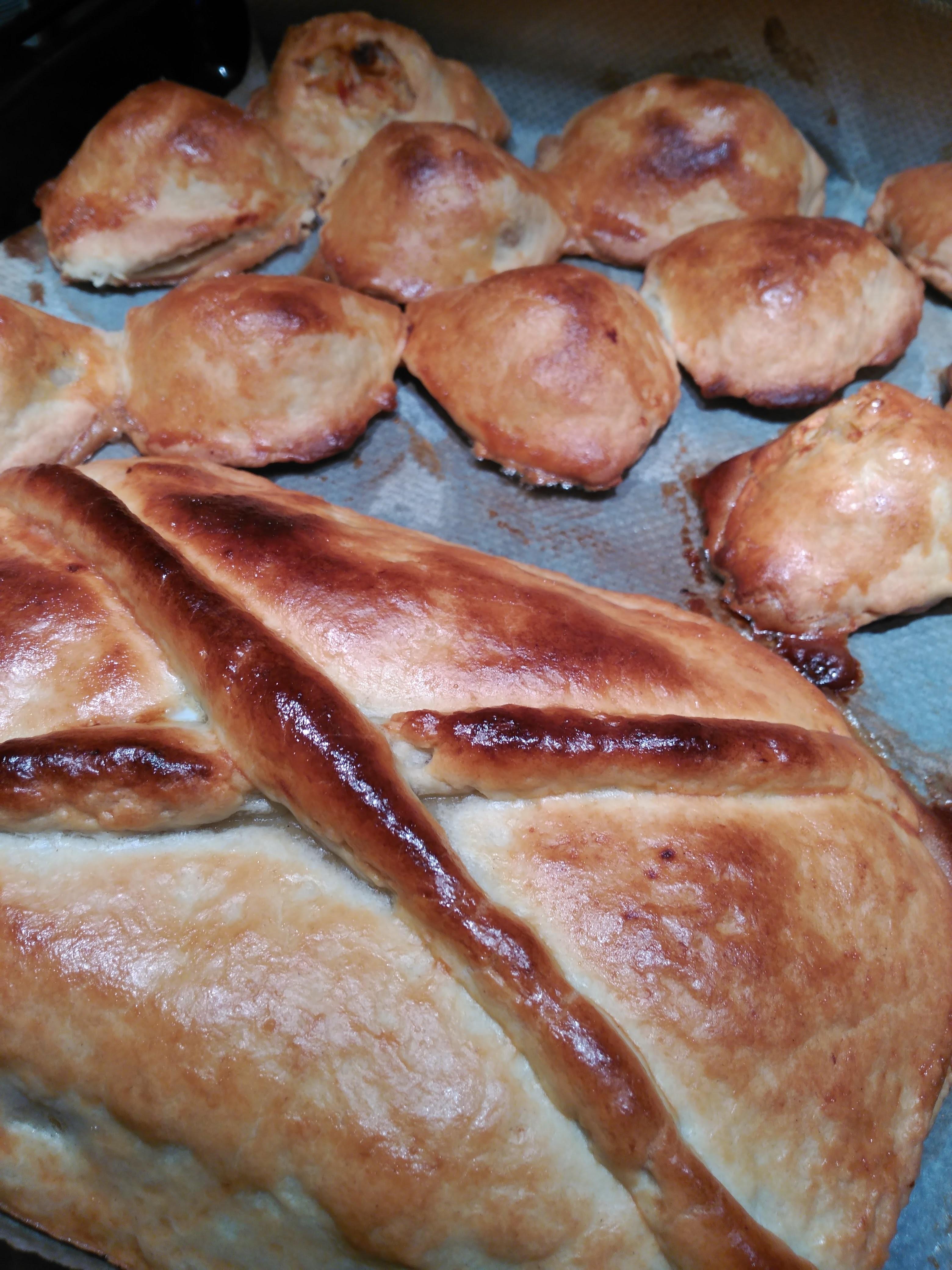 Patata Porner empanadas de patata - masas, panes y repostería - blog de