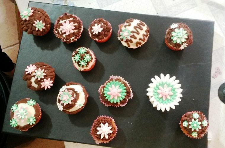 Crema de trufa para rellenar tartas,hacer cup cake con Thermomix®