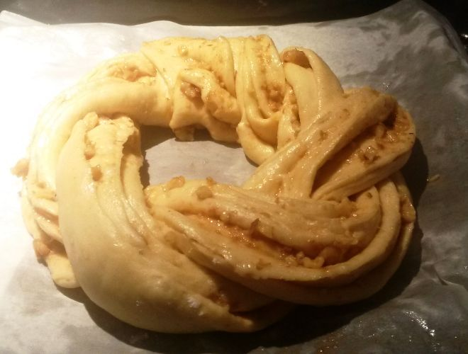 Kringle Estonia, Rosca dulce de canela y nueces delicioso con Thermomix®