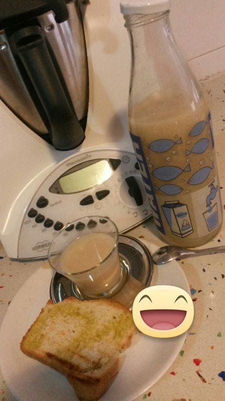 Bebida de arroz con Thermomix®