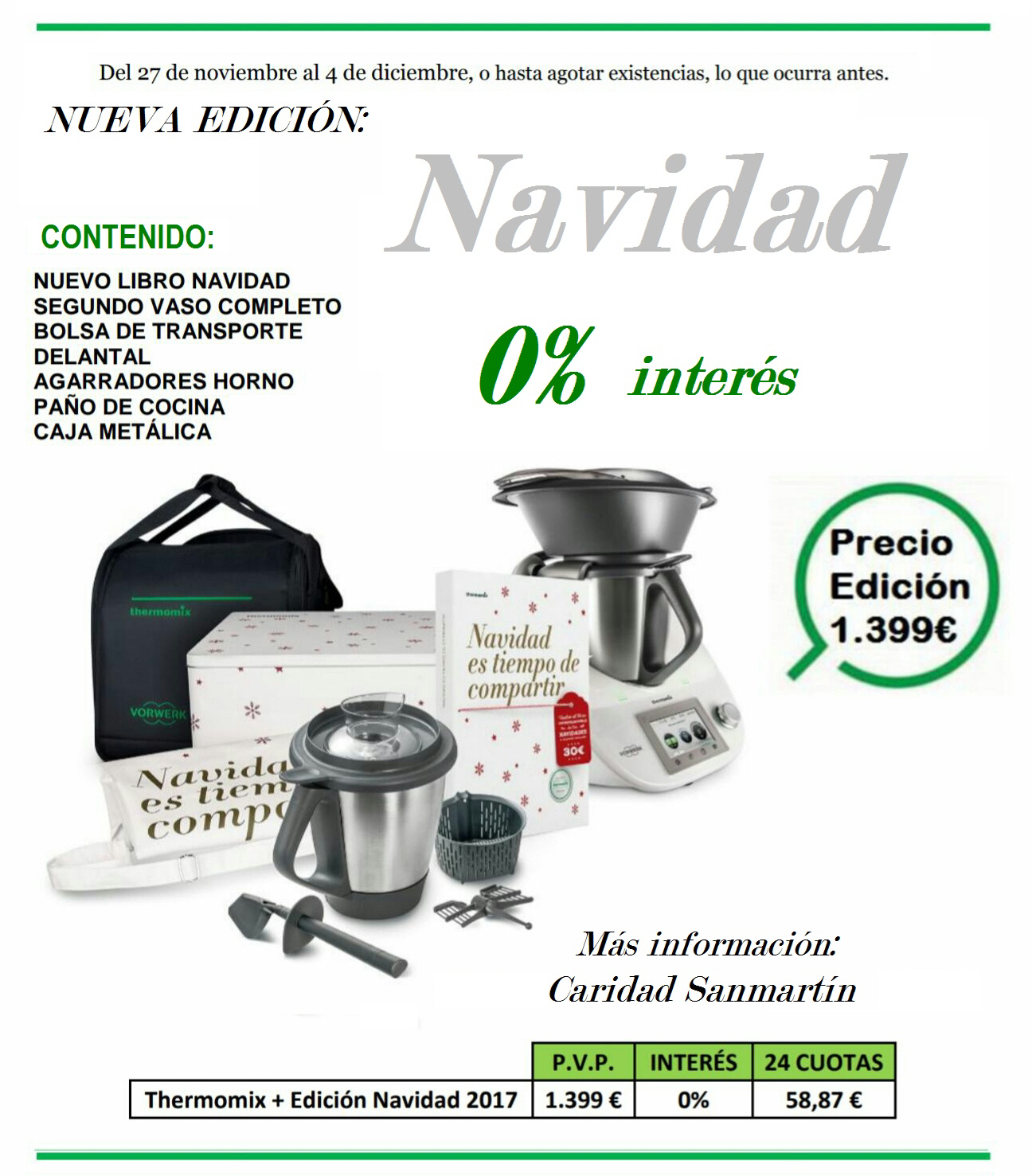 oferta thermomix edici n navidad 2017 financia sin intereses noticias blog blog de. Black Bedroom Furniture Sets. Home Design Ideas