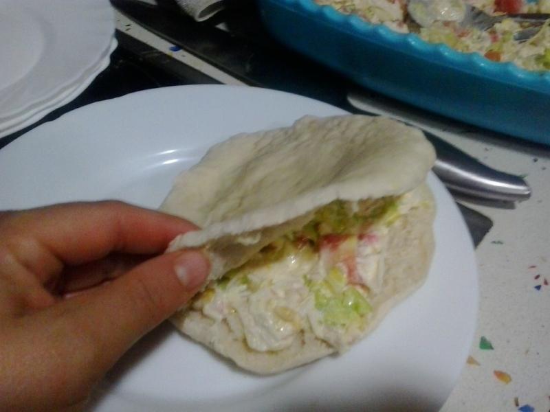 Pan de Pita con Thermomix® . (para cenar, comer, merienda,..)