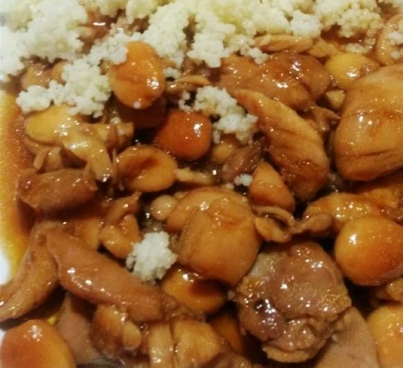 Pollo con almendras y cuscus CON Thermomix®
