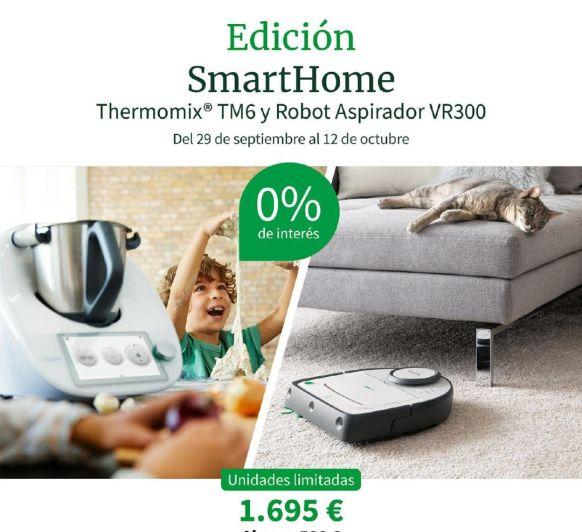 Thermomix® TM6 + ROBOT ASPIRADOR VR300 ¡¡0% INTERESES!!
