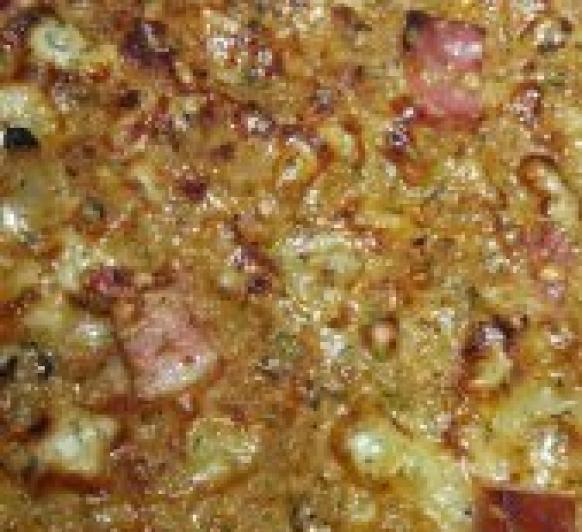 Pizza barbacoa integral con Thermomix®
