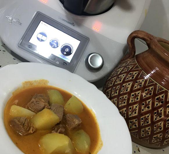 Guisado de pavo con verduras con Thermomix®