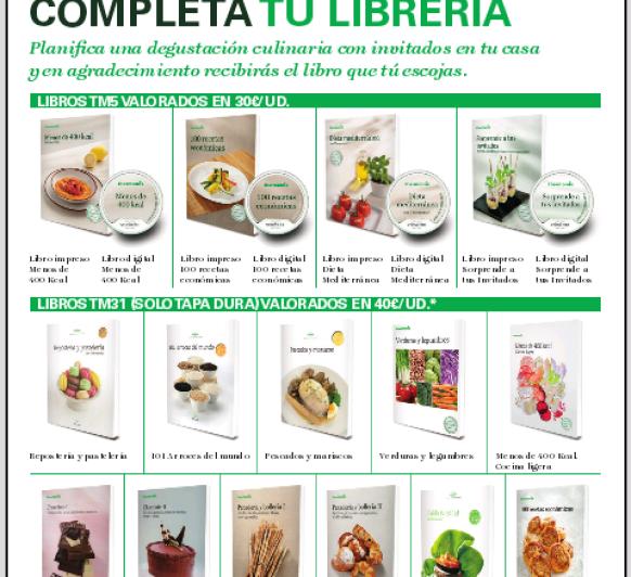 COMPLETA TU LIBRERIA Thermomix®