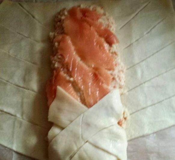 Trenza de salmón