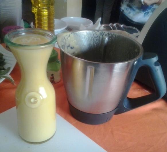 smoothie Zumo- de piña y naranja al aroma del jenjibre con Thermomix®