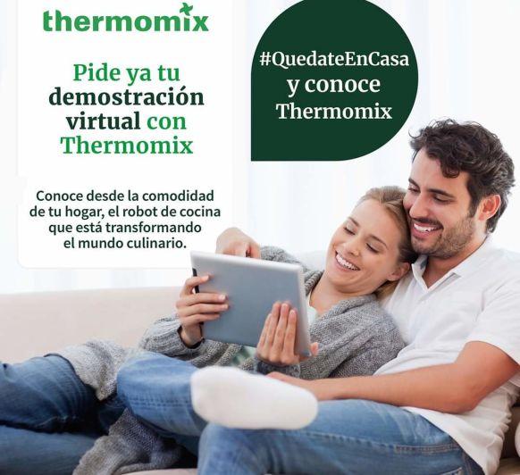 Pide tu demostración online de Thermomix®