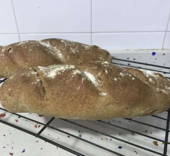 Barras de pan espelta con Thermomix®