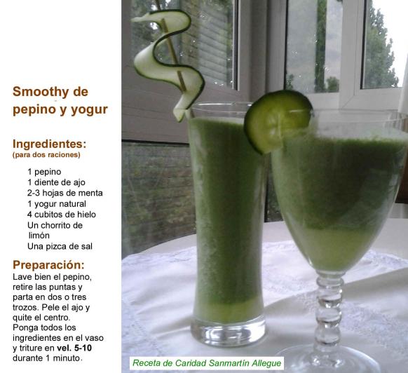 SMOOTHIE CON Thermomix® : los zumos y batidos depurativos.