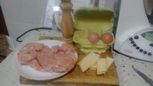 Nugetts de pollo con Thermomix®